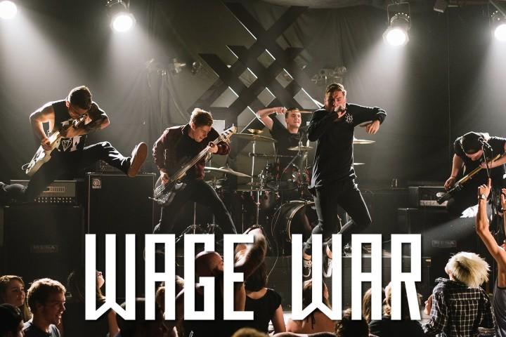攻撃性良し、金切り声良し |Wage War- Alive
